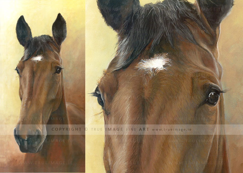 brown-horse-painting